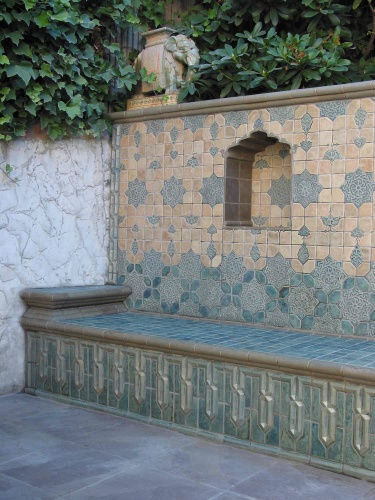Ceramic Tile Bench