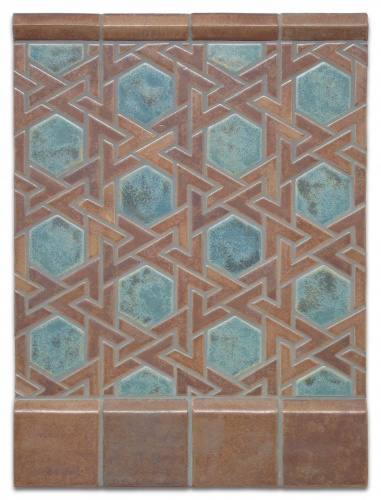 Persian Art Tile Pattern